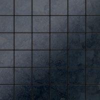 ALLOY Cinquanta-RS Mosaico de metal sólido Acero bruto gris