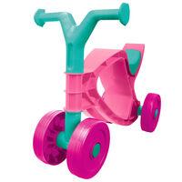 BIG Flippi Bicicleta sin pedales rosa y turquesa