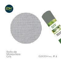 Rollo Mosquitera Gris 0.60X30M