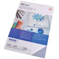 GBC Juego de tapas de encuadernación HiClear A4 150 micrones