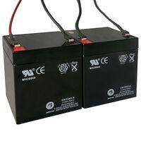 Baterías de repuesto para patinete eléctrico 2 uds 12 V 4,5 Ah