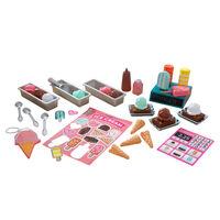 KidKraft Heladería de juguete 42 piezas