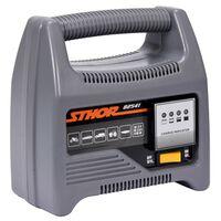 Sthor Cargador de batería con LED 12V 4A 60Ah