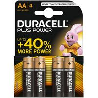 Pila Alcalina Plus K4-Lr06 - Duracell Aak4plus/Mn1500
