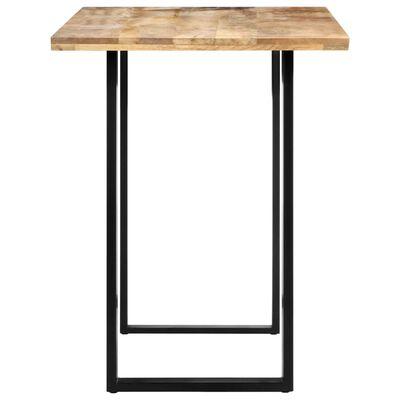 vidaXL Mesa de comedor de madera maciza de mango 120x60x76 cm