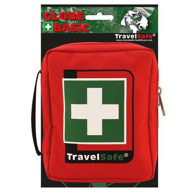 Travelsafe Botiquín de primeros auxilios 23 piezas Globe Basic rojo