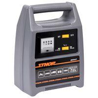 Sthor Cargador de batería con LED 6/12V 8A 120Ah