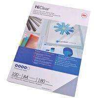GBC Juego de tapas de encuadernación HiClear A4 240 micrones