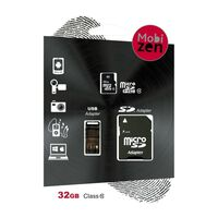 Tarjeta Micro-SD32GB MSD 4en1 CL10 USB/SD/MSD
