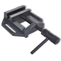 vidaXL Tornillo de banco manual 90 mm