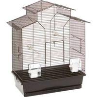 FLAMINGO Jaula para pájaros Numfor negro 52x30x61 cm