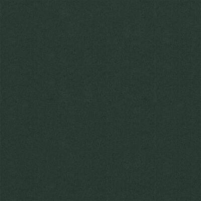 vidaXL Toldo para balcón tela oxford verde oscuro 120x600 cm