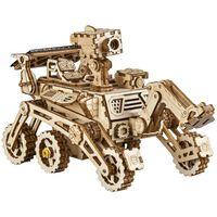 Robotime Kit de coche a escala de energía solar Curiosity Rover