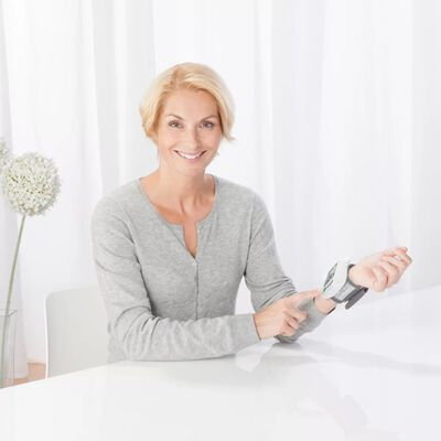 Medisana Monitor de presión sanguinea de muñeca BW 315 blanco 51072