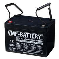Batería de ciclo profundo AGM VMF EV12-63, 12 V, 63 Ah