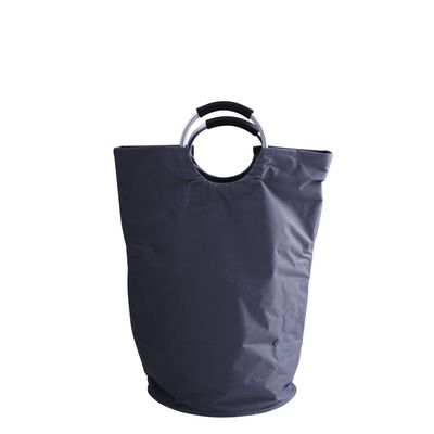 RIDDER Cesto de la ropa sucia gris 65 L