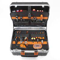 BAHCO Caja de herramientas rígida con 55 herramientas 4750RCW011BNL