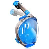 Máscara de snorkel azul - S / M