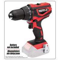 YATO Destornillador sin batería 18V 40Nm