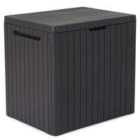 Keter Caja de almacenamiento de jardín City 113 L
