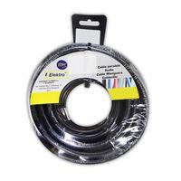 Cable Textil 3X0.75 Pvc 25M Negro Solo Para Iluminacion