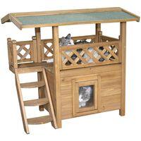 Kerbl Casa para gatos Lodge 77x50x73 cm