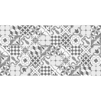 Flooralia- Alfombra de vinilo  - Patchwork - P-008