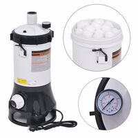 vidaXL Bomba filtro de piscinas Intex Bestway 185W 4,4 m³/h