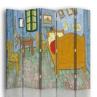Biombo Vincent'S Bedroom In Arles - Vincent Van Gogh