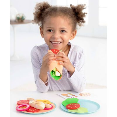 Skip Hop Kit de comida de juguete del pequeño chef Zoo