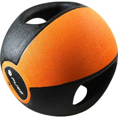 Pure2Improve Balón medicinal con asas 4 kg naranja