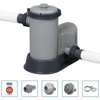 Bestway Bomba de filtro de piscina Flowclear Skimatic 5678 L/h
