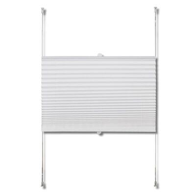 Plisse Persiana Blanco Cortina Plisada 100X200cm
