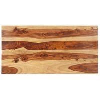 vidaXL Superficie de mesa madera maciza de sheesham 25-27 mm 60x100 cm