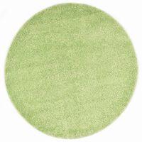 vidaXL Alfombra de pelo verde 160 cm