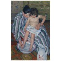 Cuadro Lienzo, Impresión Digital - El Baño Del Niño - Mary Cassatt