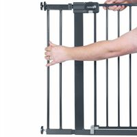 Safety 1st Extensión barrera de seguridad 14 cm metal negra 2429057000