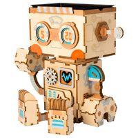 Robotime Kits de construcción de macetas Robot