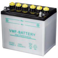 Batería para motocicleta 12 V 24 Ah 12N24-3, marca VMF Powersport