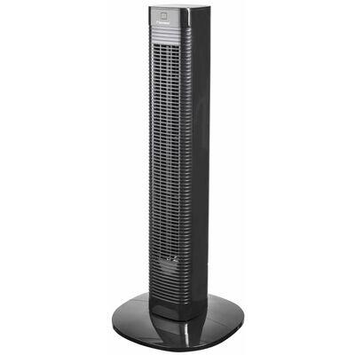 Bestron Ventilador de torre mando a distancia AFT80ZRC 80cm 50W negro