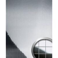 Wallface 14239-sa Panel De Pared Mosaico Plata