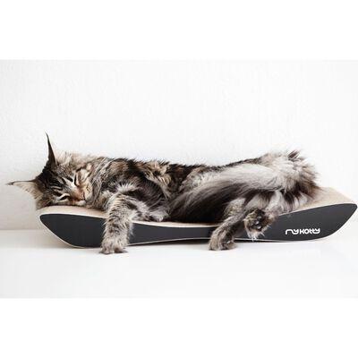 MyKotty Rascador para gatos TOBI 59x25x6,9 cm negro 3089
