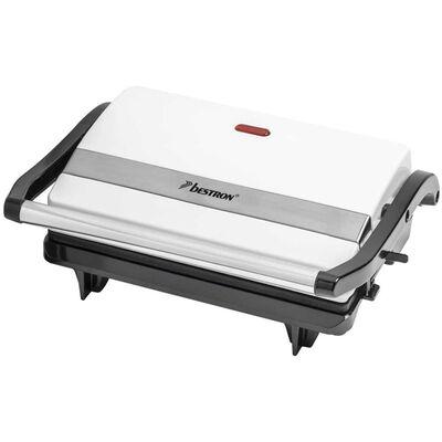 Bestron Plancha grill blanca 700 W APM123W