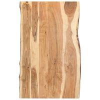 vidaXL Superficie de mesa de madera maciza de acacia 100x(50-60)x3,8 cm