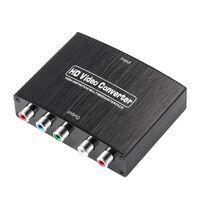 Convertidor de video HD HDMI a componente RGB (YPbPr) y audio L / R (L