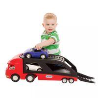 Camión de transporte de coches Little Tikes 484964, Rojo/ Negro