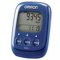Omron Podómetro electrónico Walking Style  azul OMR-HJ-325-EB